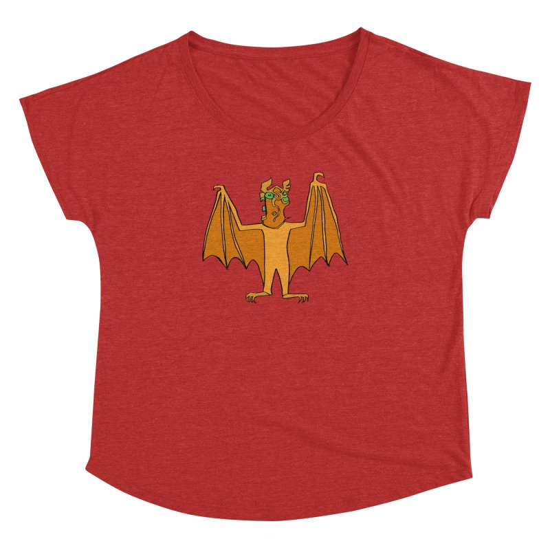 Demon Bat Women's Dolman Scoop Neck by RiffTrax on Threadless!