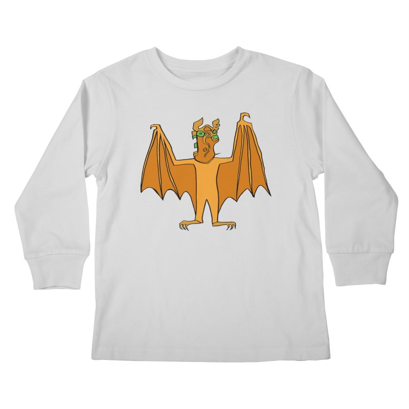 Demon Bat Kids Longsleeve T-Shirt by RiffTrax on Threadless!
