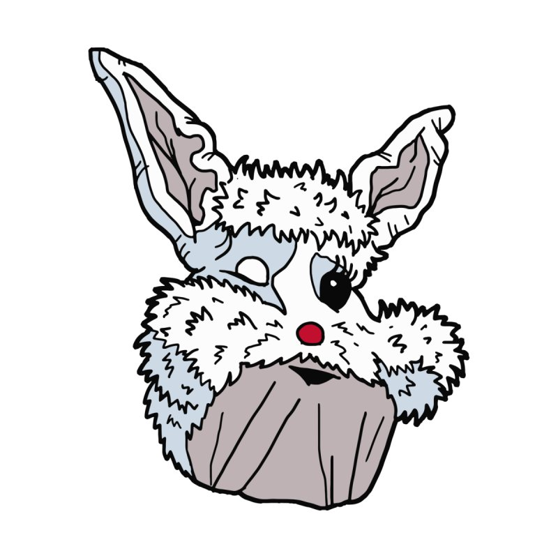Ice Cream Bunny Face by RiffTrax on Threadless!