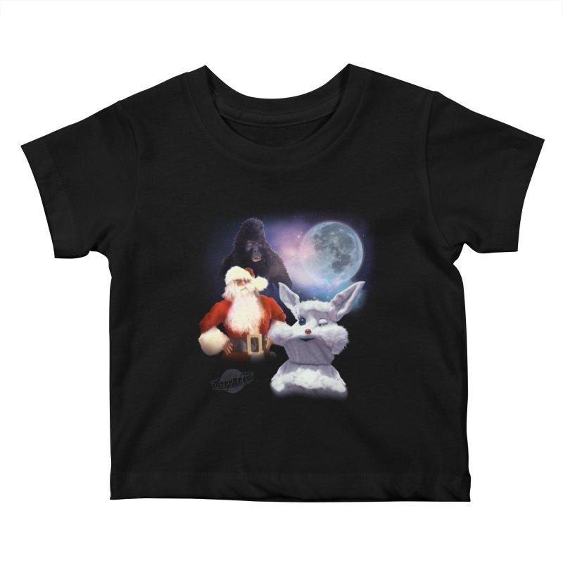 Three Hurr Moon Kids Baby T-Shirt by RiffTrax on Threadless!