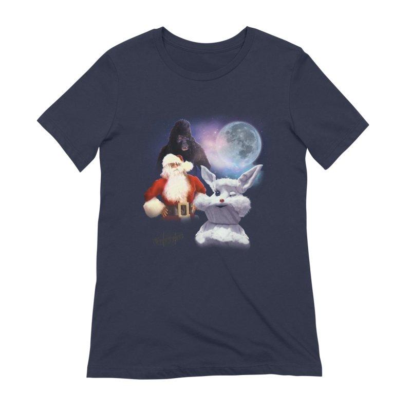 Three Hurr Moon Women's Extra Soft T-Shirt by RiffTrax on Threadless!