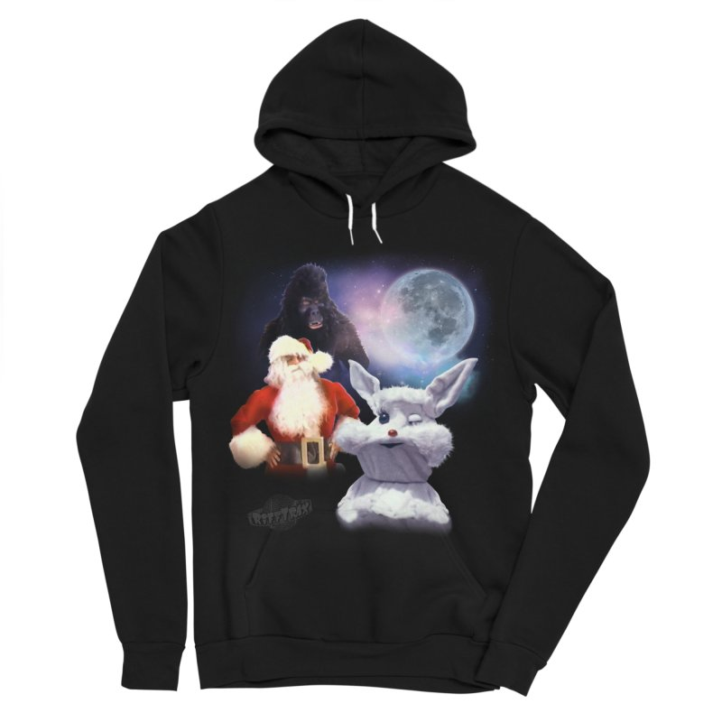 Three Hurr Moon Men's Sponge Fleece Pullover Hoody by RiffTrax on Threadless!