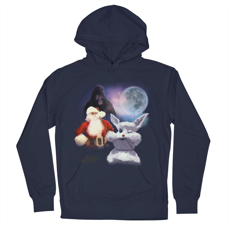 Three Hurr Moon Women's French Terry Pullover Hoody by RiffTrax on Threadless!