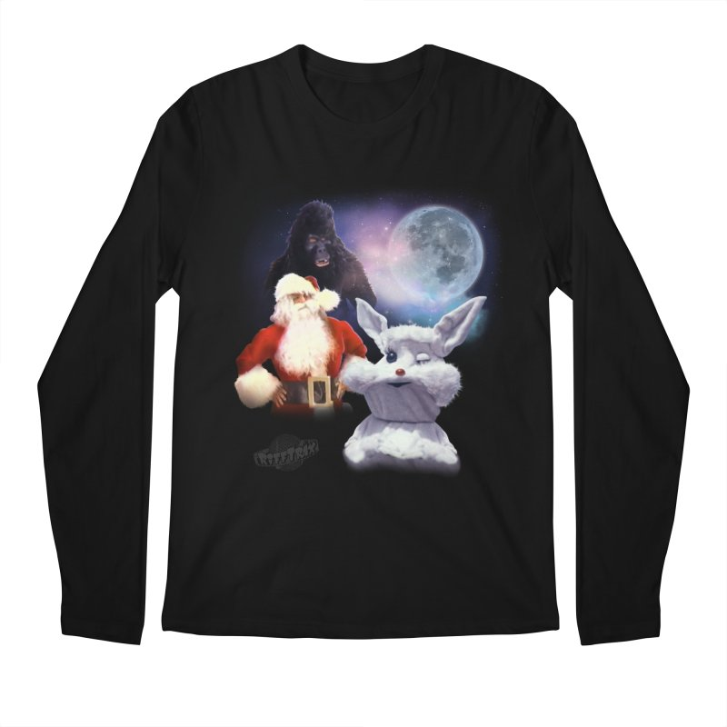 Three Hurr Moon Men's Regular Longsleeve T-Shirt by RiffTrax on Threadless!