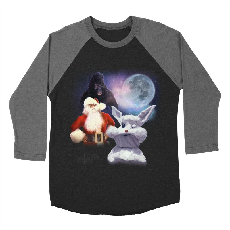Three Hurr Moon Women's Baseball Triblend Longsleeve T-Shirt by RiffTrax on Threadless!