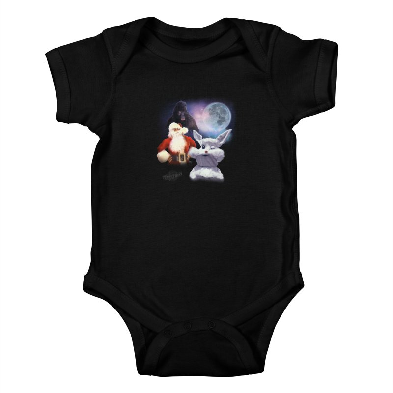 Three Hurr Moon Kids Baby Bodysuit by RiffTrax on Threadless!