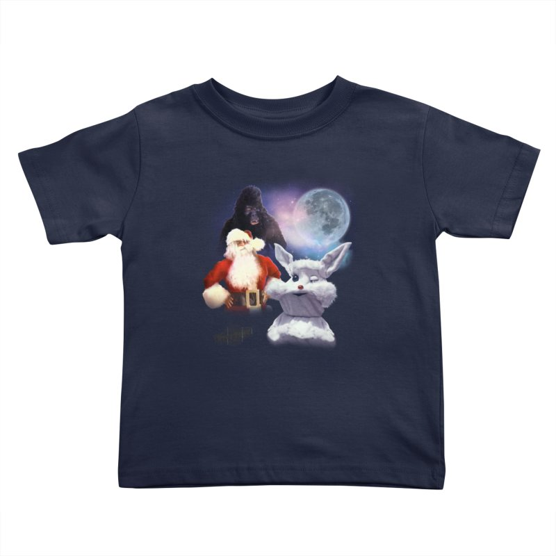 Three Hurr Moon Kids Toddler T-Shirt by RiffTrax on Threadless!