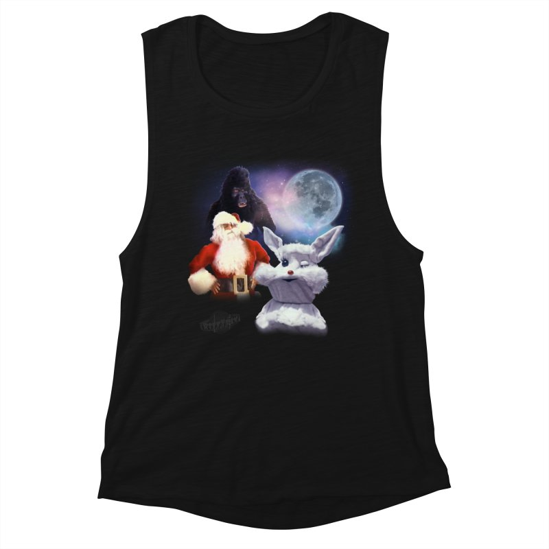 Three Hurr Moon Women's Muscle Tank by RiffTrax on Threadless!