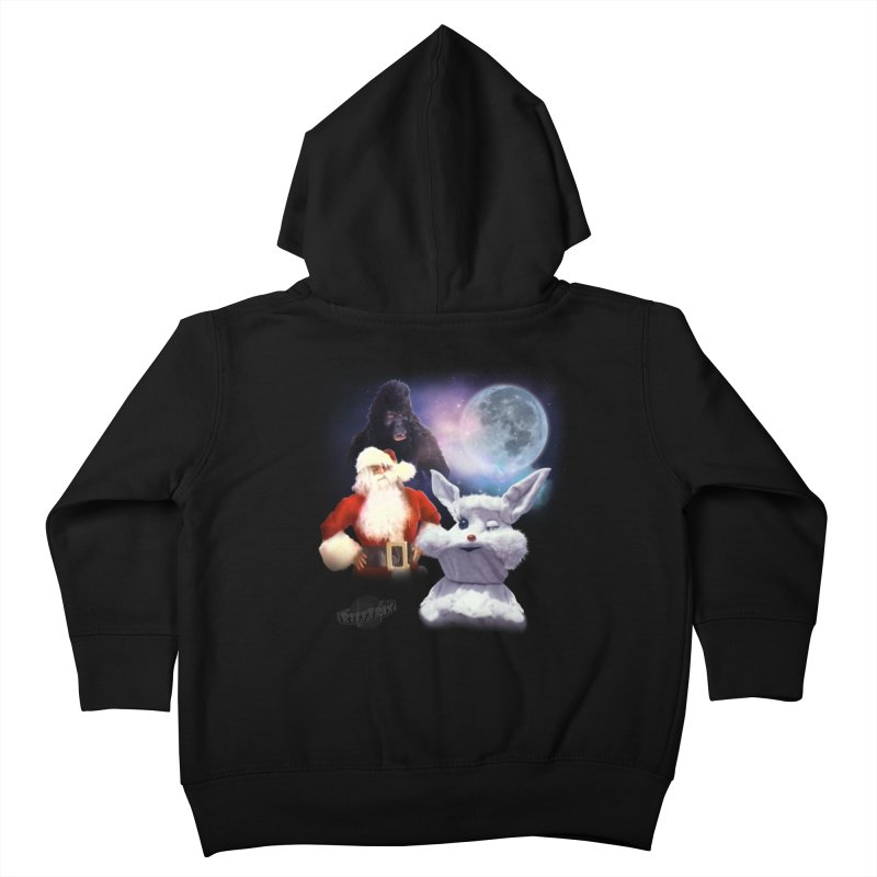 Three Hurr Moon Kids Toddler Zip-Up Hoody by RiffTrax on Threadless!