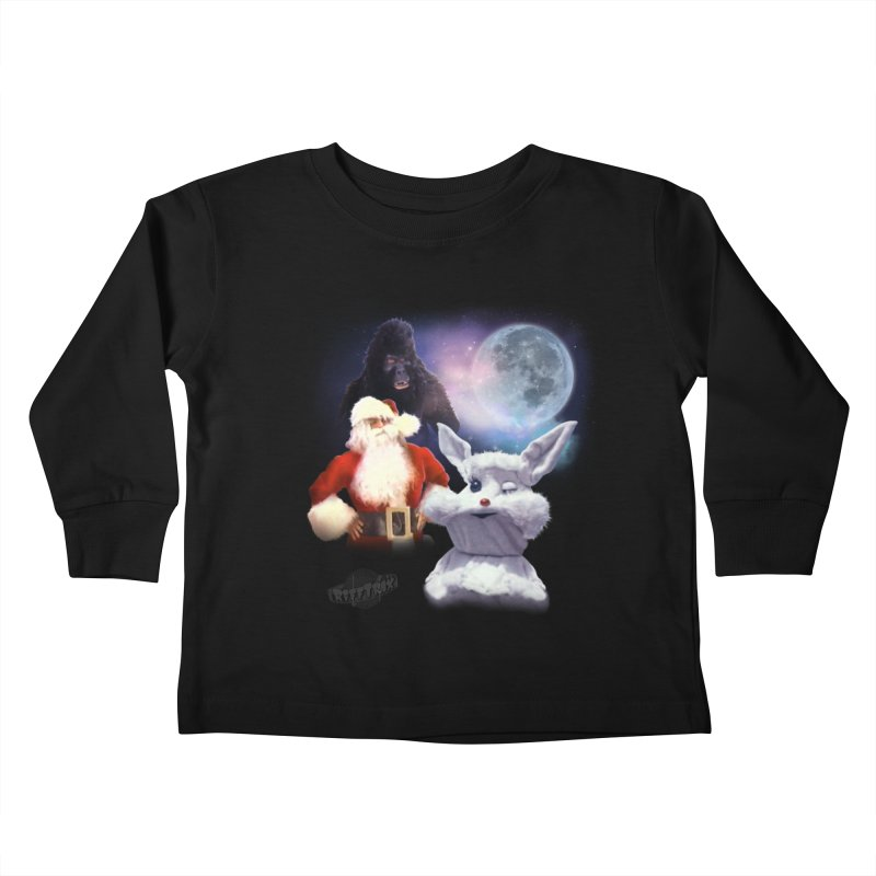 Three Hurr Moon Kids Toddler Longsleeve T-Shirt by RiffTrax on Threadless!