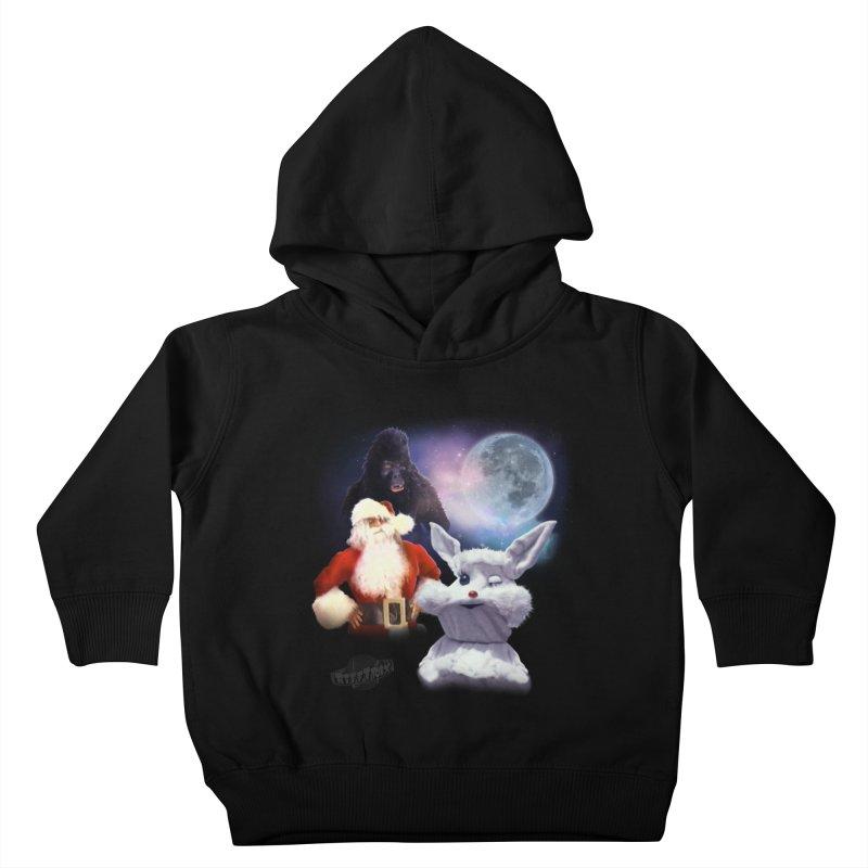 Three Hurr Moon Kids Toddler Pullover Hoody by RiffTrax on Threadless!