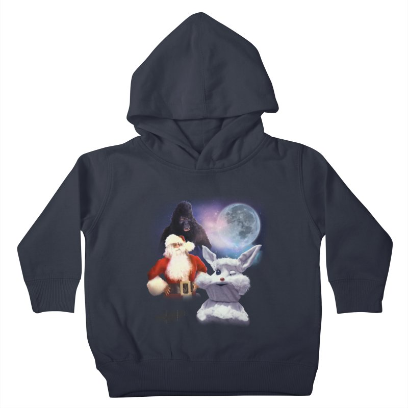 Three Hurr Moon Kids Toddler Pullover Hoody by RiffTrax on Threadless!