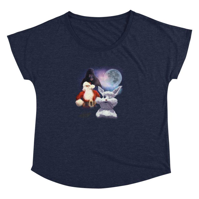 Three Hurr Moon Women's Dolman Scoop Neck by RiffTrax on Threadless!