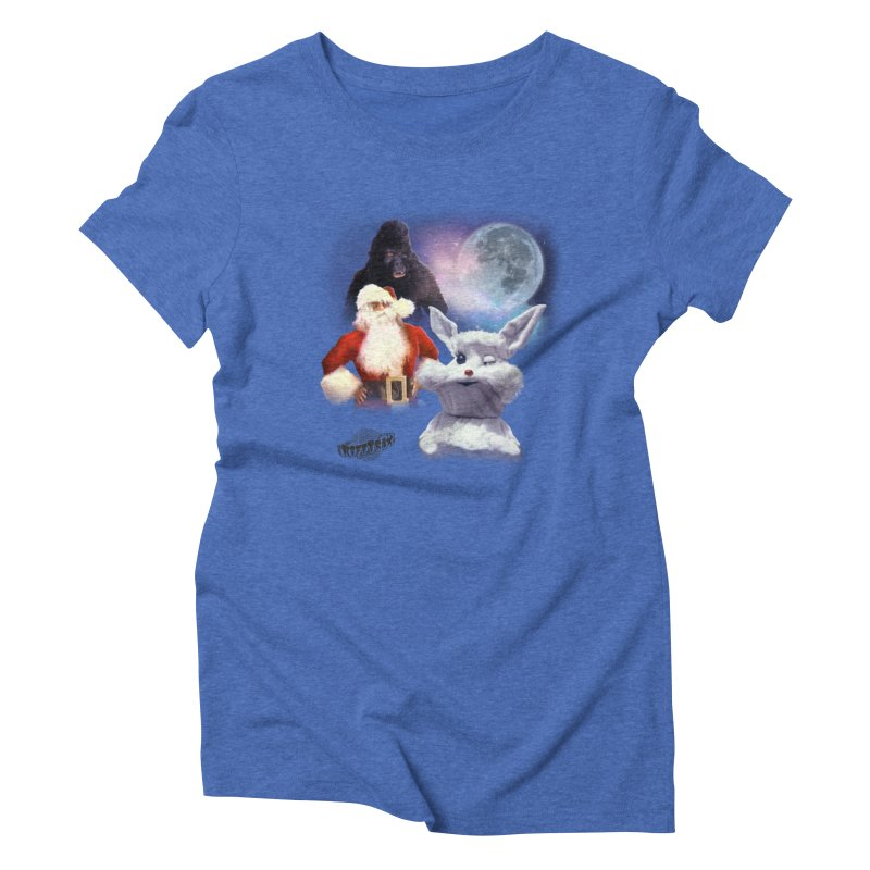 Three Hurr Moon Women's Triblend T-Shirt by RiffTrax on Threadless!