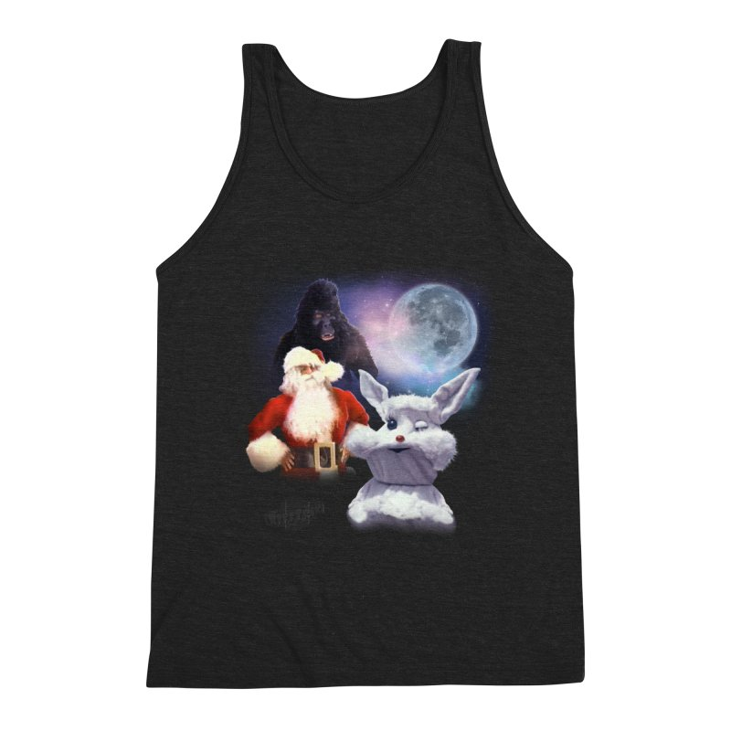 Three Hurr Moon Men's Triblend Tank by RiffTrax on Threadless!