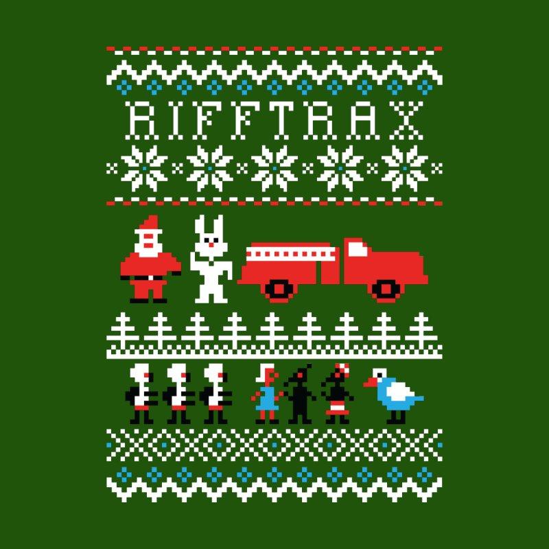 RiffTrax Ice Cream Bunny Ugly Shirt Men's Zip-Up Hoody by RiffTrax on Threadless!