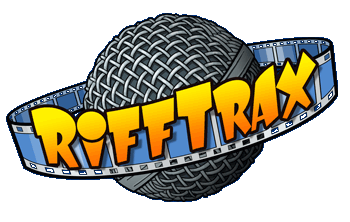 Logo for RiffTrax on Threadless!