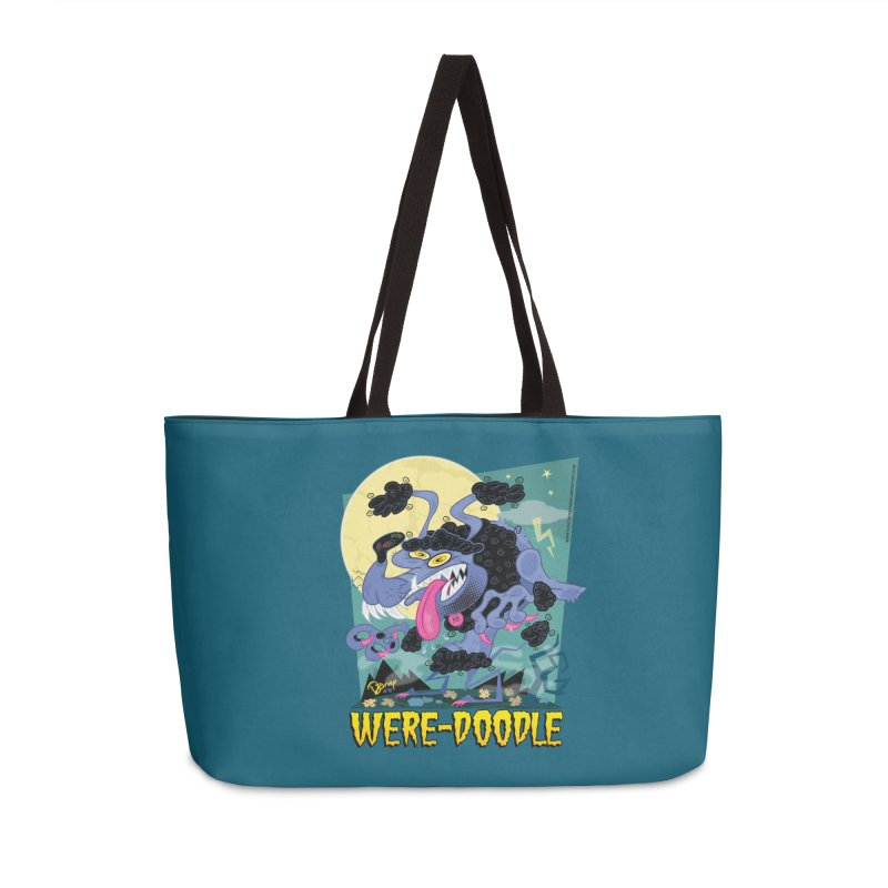 Were-Doodle Accessories Bag by righthemispherelaboratory's Shop