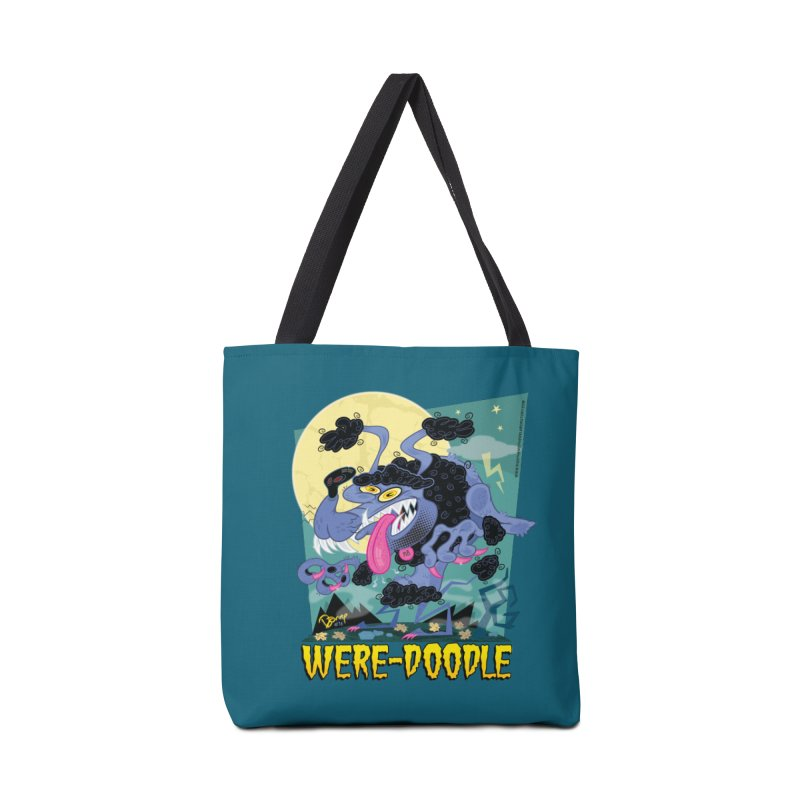 Were-Doodle Accessories Tote Bag Bag by righthemispherelaboratory's Shop