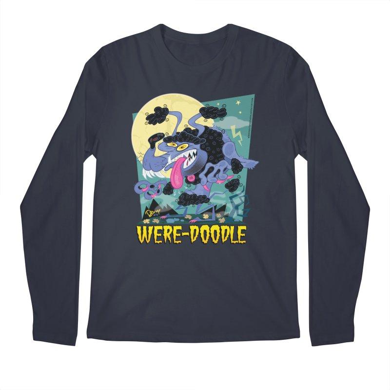 Were-Doodle Men's Longsleeve T-Shirt by righthemispherelaboratory's Shop