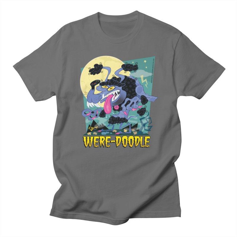 Were-Doodle Men's T-Shirt by righthemispherelaboratory's Shop