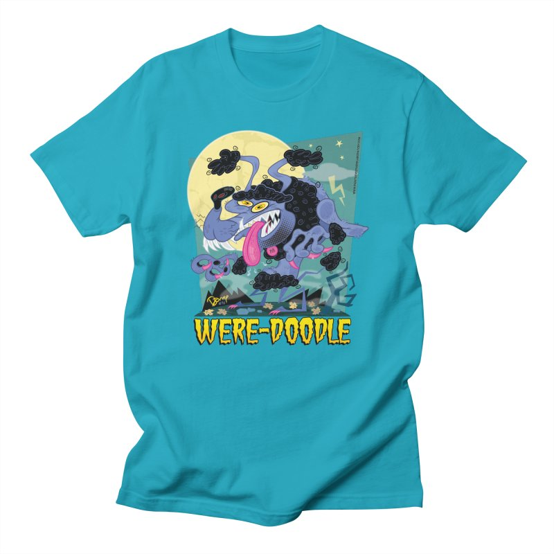 Were-Doodle Women's T-Shirt by righthemispherelaboratory's Shop