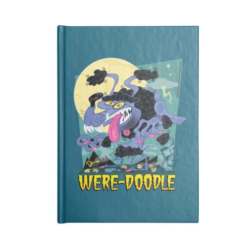 Were-Doodle Accessories Blank Journal Notebook by righthemispherelaboratory's Shop
