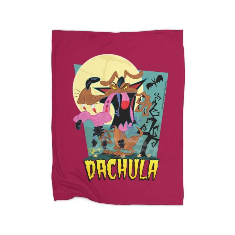 Dachula Home Fleece Blanket Blanket by righthemispherelaboratory's Shop