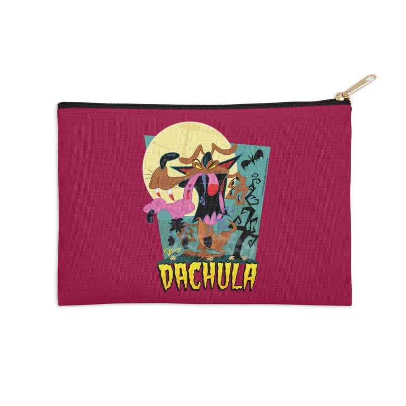 Dachula Accessories Zip Pouch by righthemispherelaboratory's Shop