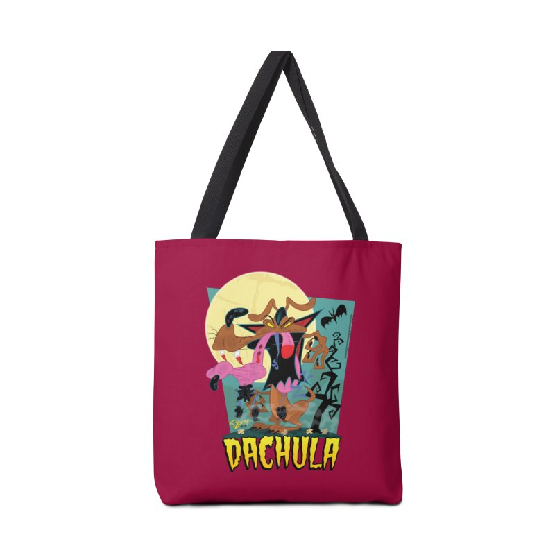 Dachula Accessories Tote Bag Bag by righthemispherelaboratory's Shop
