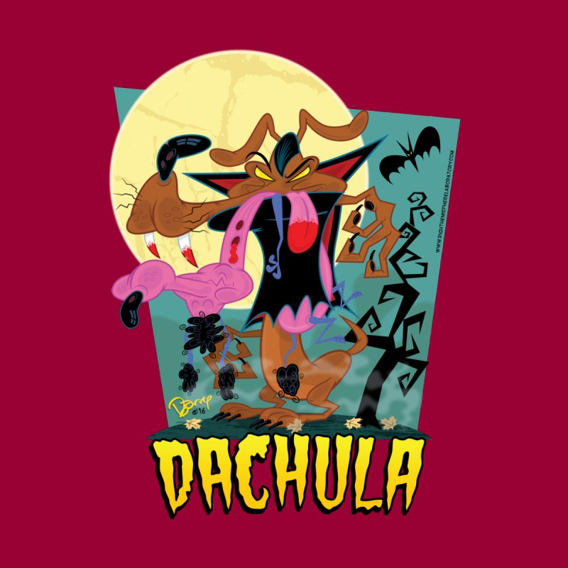 Dachula Men's T-Shirt by righthemispherelaboratory's Shop