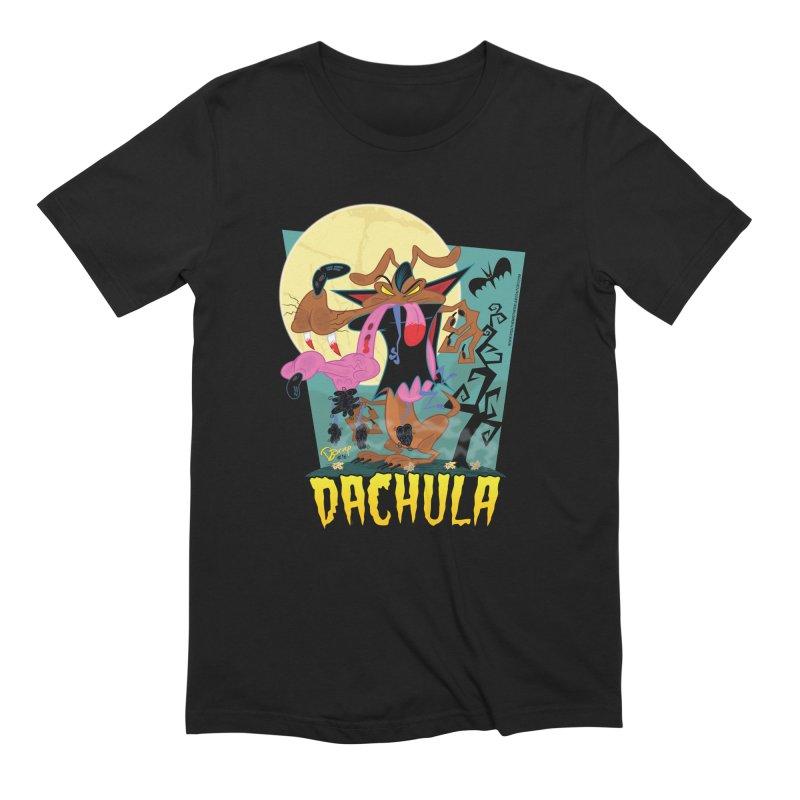 Dachula Men's T-Shirt by righthemispherelaboratory's Shop
