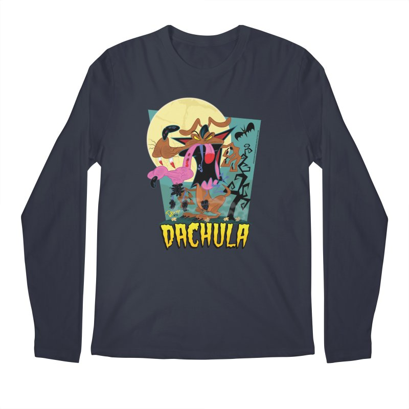 Dachula Men's Regular Longsleeve T-Shirt by righthemispherelaboratory's Shop