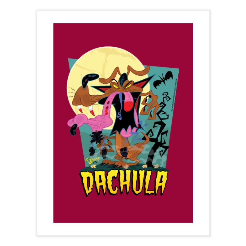 Dachula Home Fine Art Print by righthemispherelaboratory's Shop