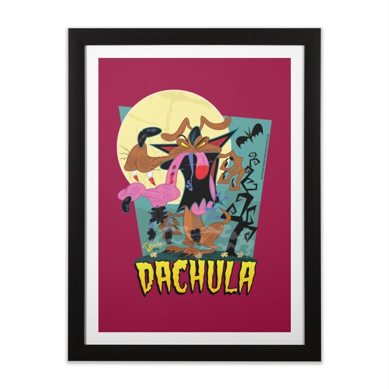 Dachula Home Framed Fine Art Print by righthemispherelaboratory's Shop