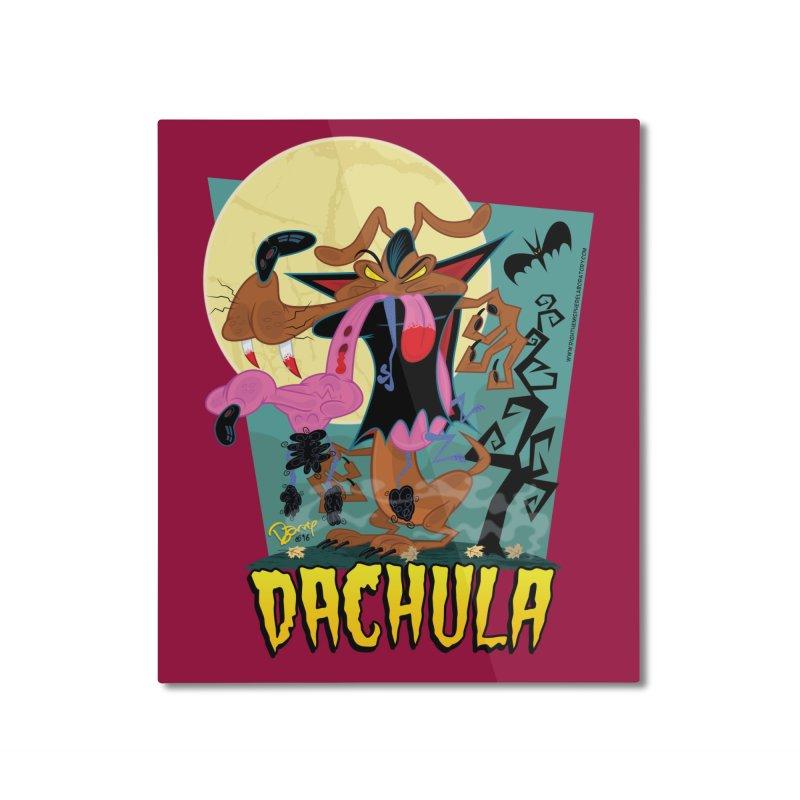 Dachula Home Mounted Aluminum Print by righthemispherelaboratory's Shop