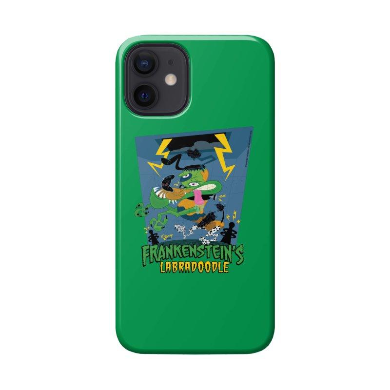 Frankenstein's Labradoodle Accessories Phone Case by righthemispherelaboratory's Shop