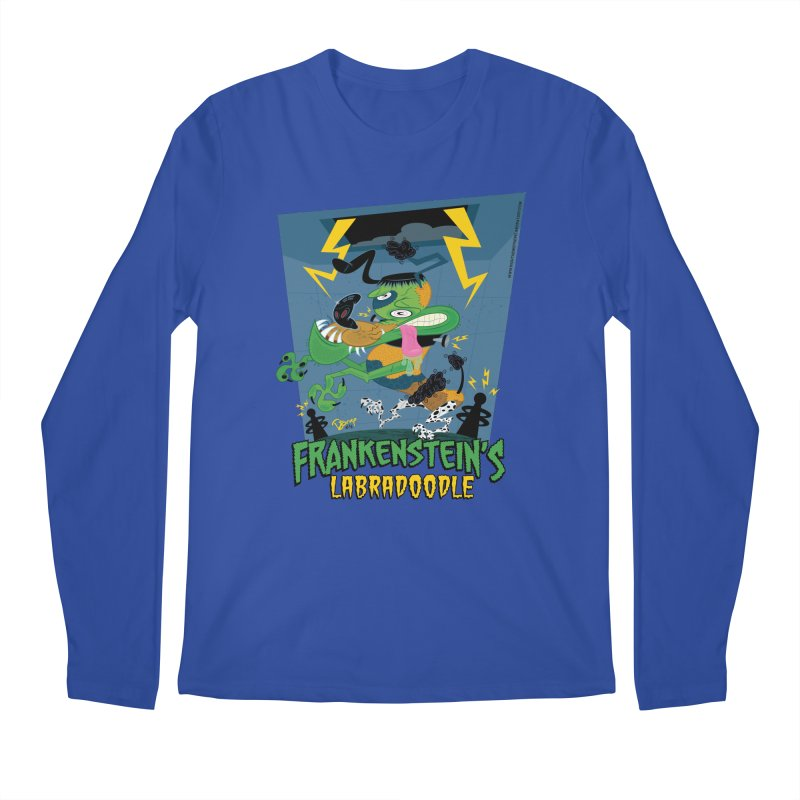 Frankenstein's Labradoodle Men's Regular Longsleeve T-Shirt by righthemispherelaboratory's Shop