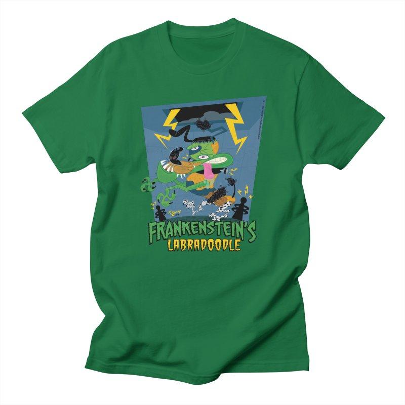 Frankenstein's Labradoodle Women's T-Shirt by righthemispherelaboratory's Shop