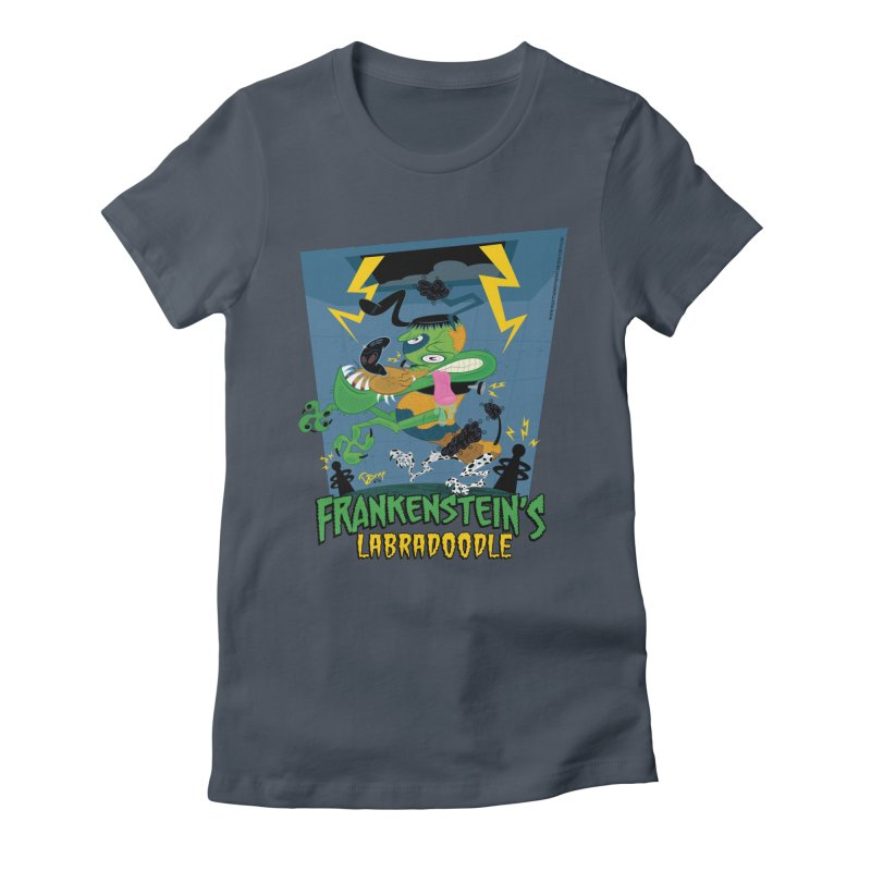 Frankenstein's Labradoodle Women's T-Shirt by righthemispherelaboratory's Shop