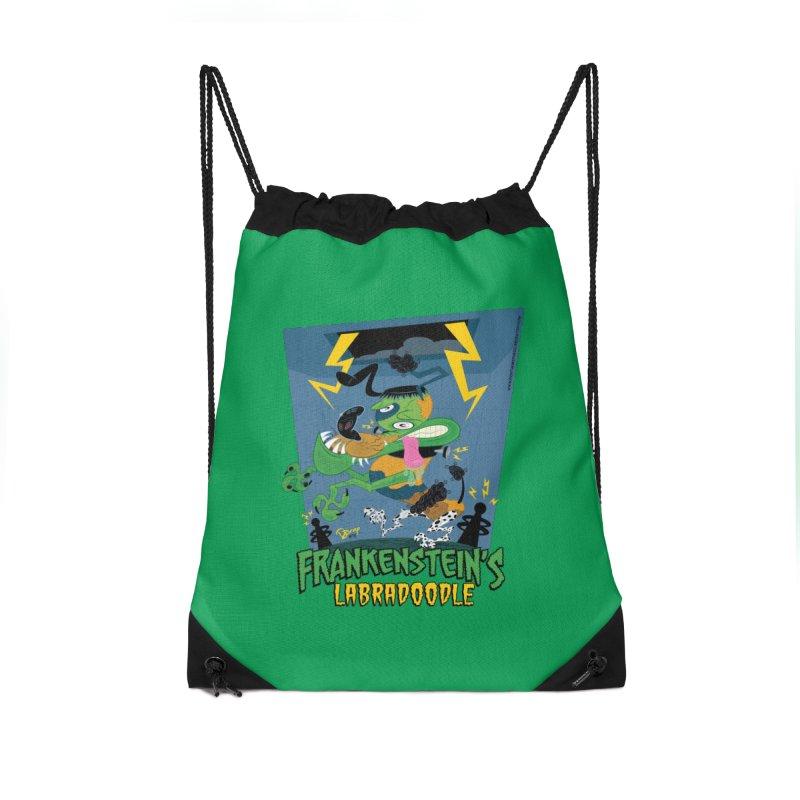 Frankenstein's Labradoodle Accessories Bag by righthemispherelaboratory's Shop