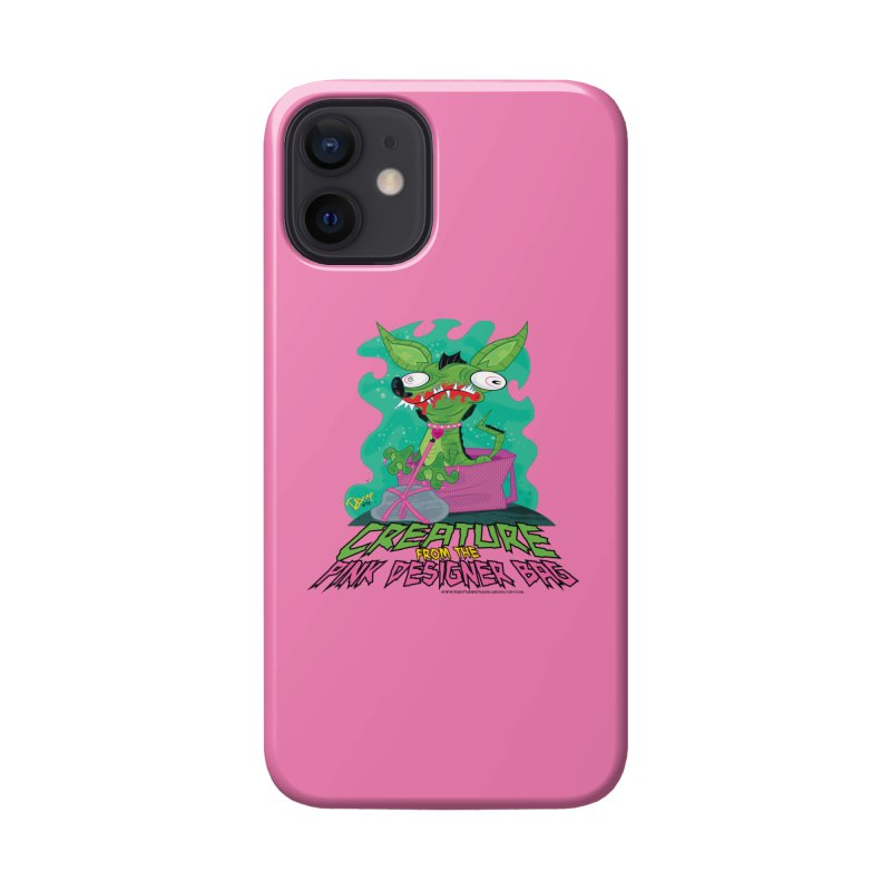 Creature from the Pink Designer Bag Accessories Phone Case by righthemispherelaboratory's Shop