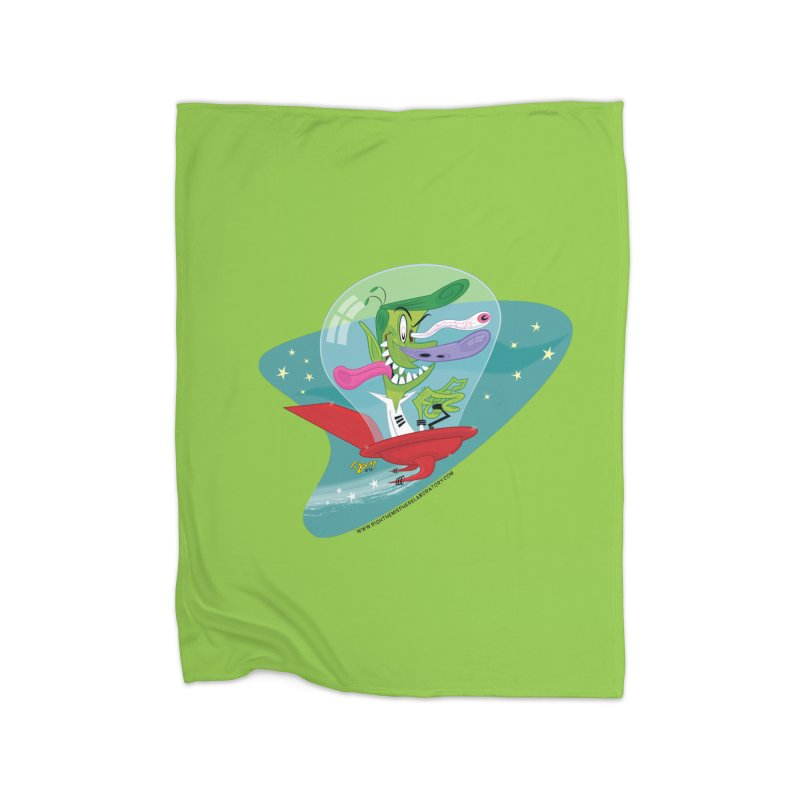 Jet Fink Home Fleece Blanket Blanket by righthemispherelaboratory's Shop