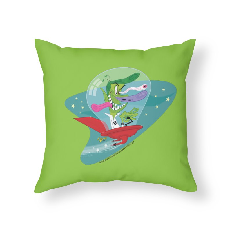 Jet Fink Home Throw Pillow by righthemispherelaboratory's Shop