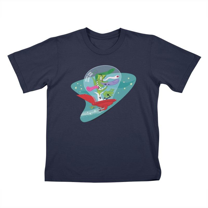 Jet Fink Kids T-Shirt by righthemispherelaboratory's Shop