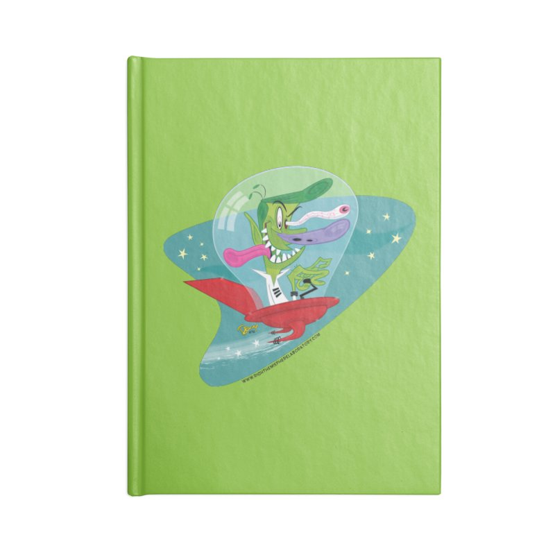 Jet Fink Accessories Notebook by righthemispherelaboratory's Shop