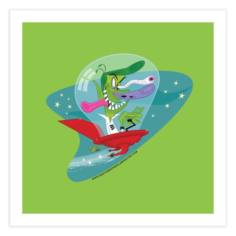 Jet Fink Home Fine Art Print by righthemispherelaboratory's Shop