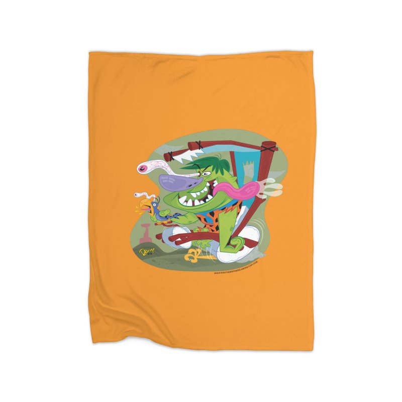 Fink-Stone Home Fleece Blanket Blanket by righthemispherelaboratory's Shop