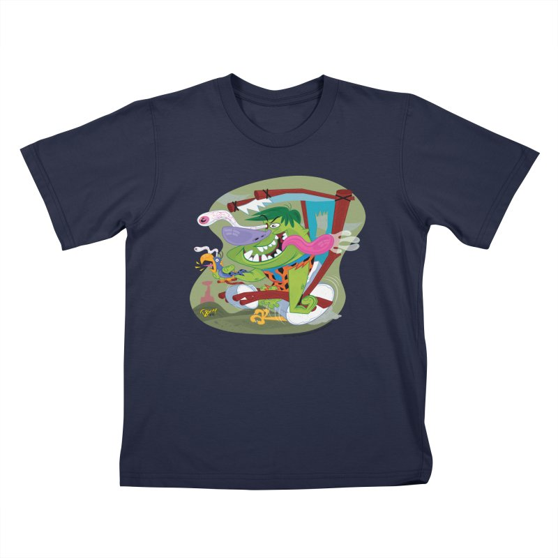 Fink-Stone Kids T-Shirt by righthemispherelaboratory's Shop