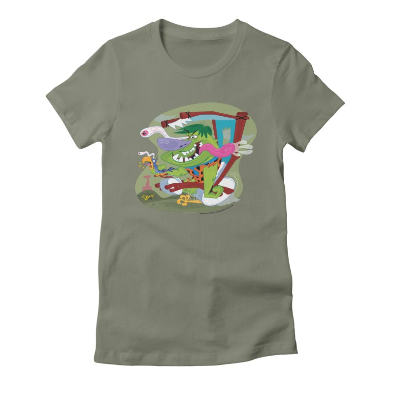 Fink-Stone Women's Fitted T-Shirt by righthemispherelaboratory's Shop